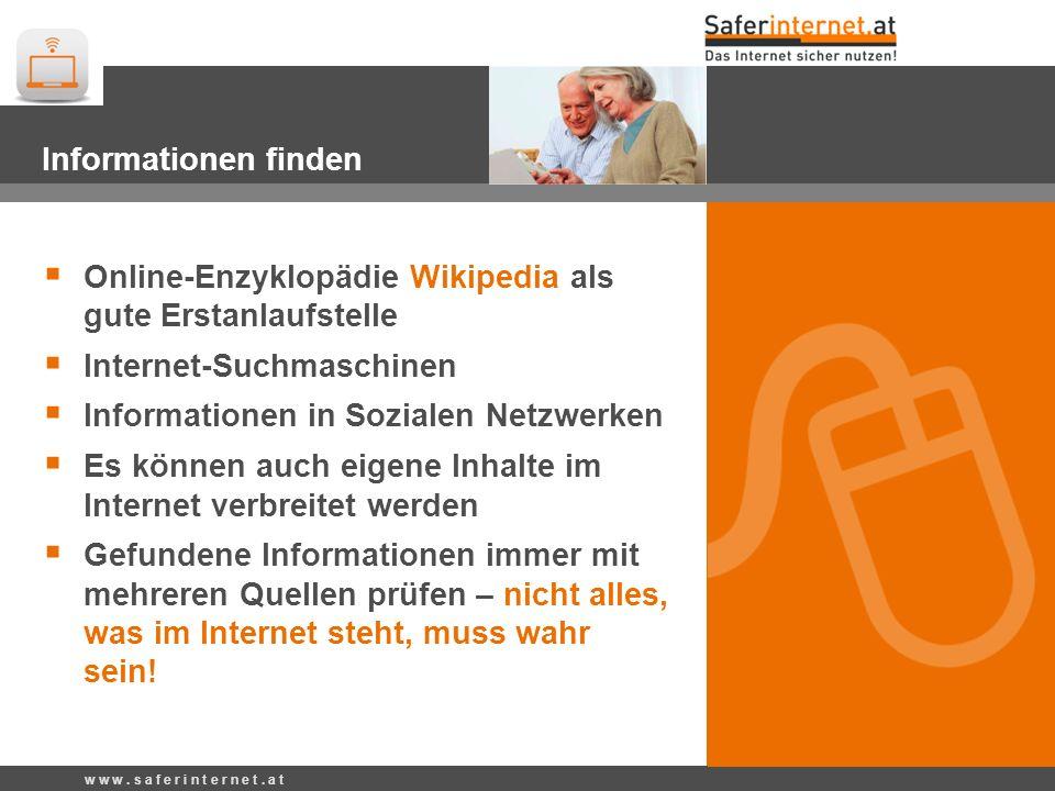 Online-Enzyklopädie Wikipedia als gute Erstanlaufstelle