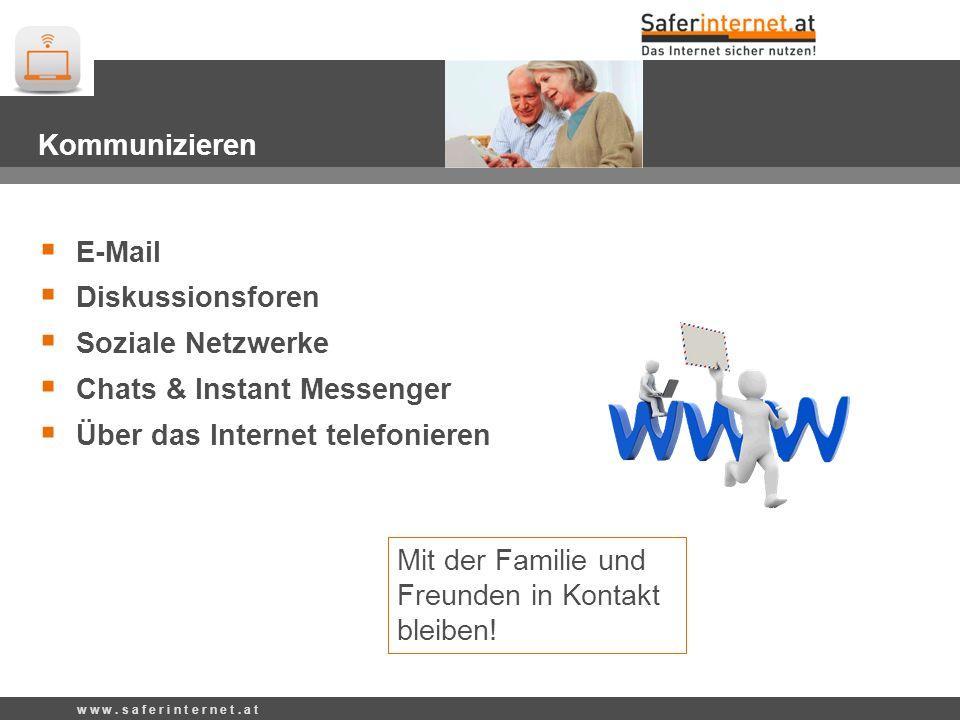 Chats & Instant Messenger Über das Internet telefonieren