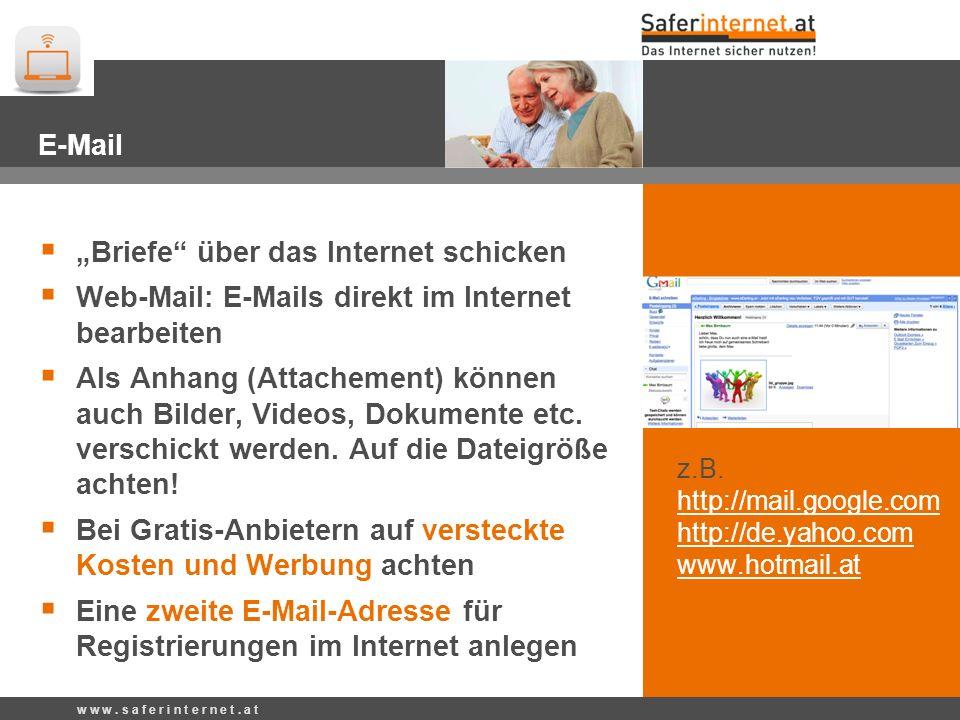 """""""Briefe über das Internet schicken"""