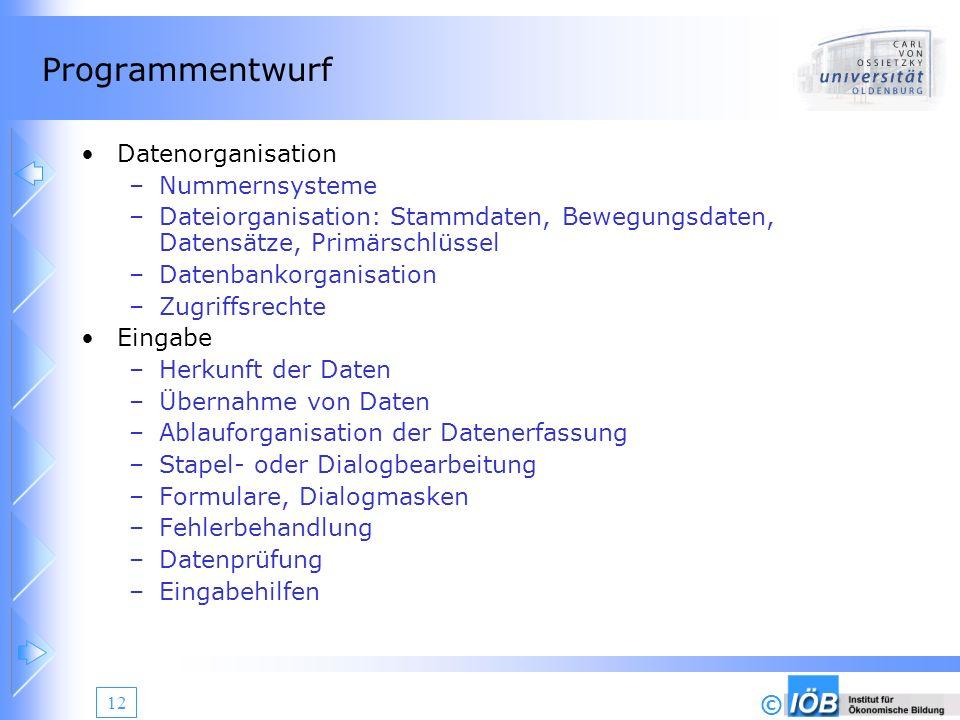 Programmentwurf Datenorganisation Nummernsysteme