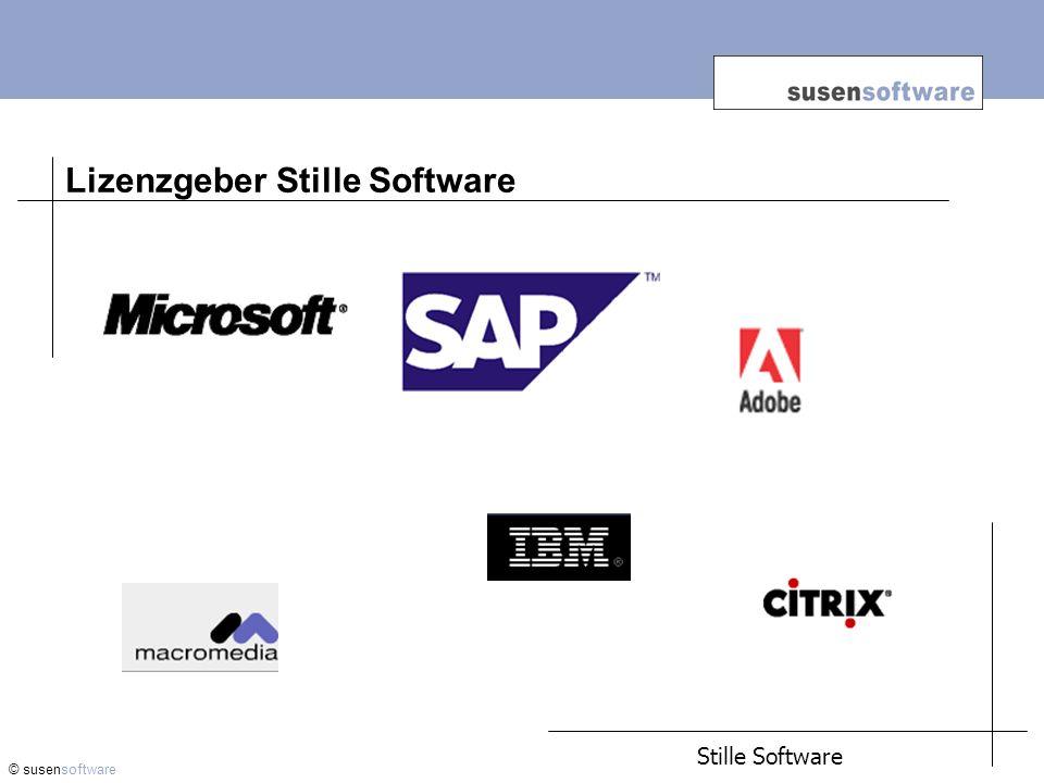 Lizenzgeber Stille Software