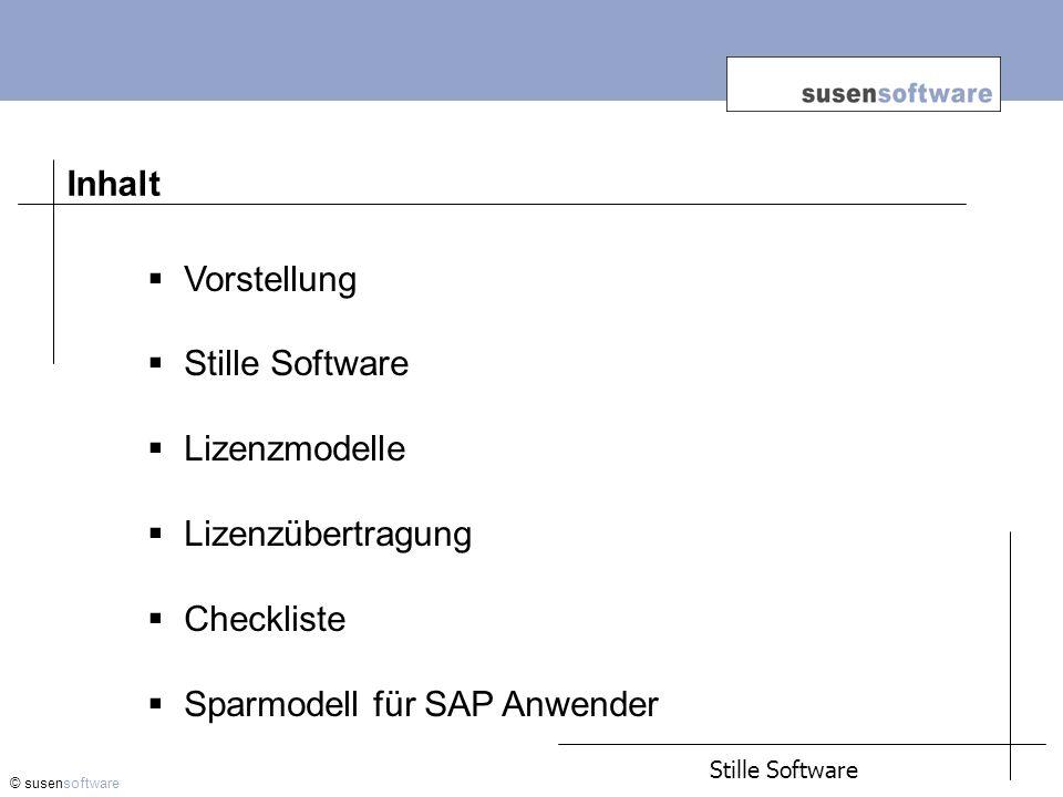 Sparmodell für SAP Anwender