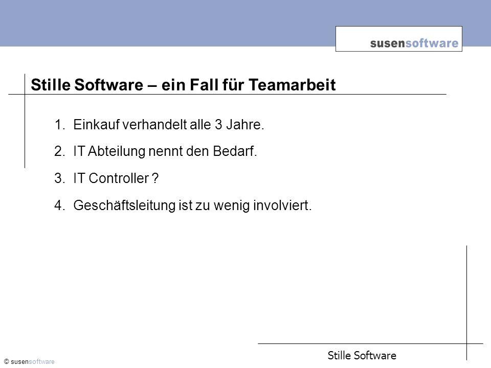 Stille Software – ein Fall für Teamarbeit