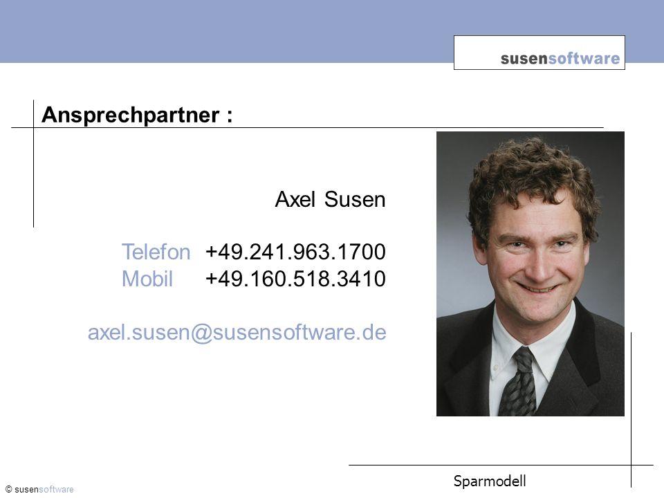 Ansprechpartner : Axel Susen Telefon +49.241.963.1700