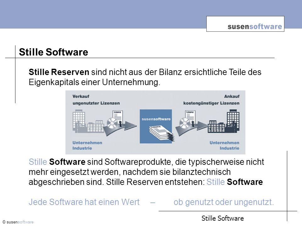 Stille Software. Stille Reserven sind nicht aus der Bilanz ersichtliche Teile des Eigenkapitals einer Unternehmung.