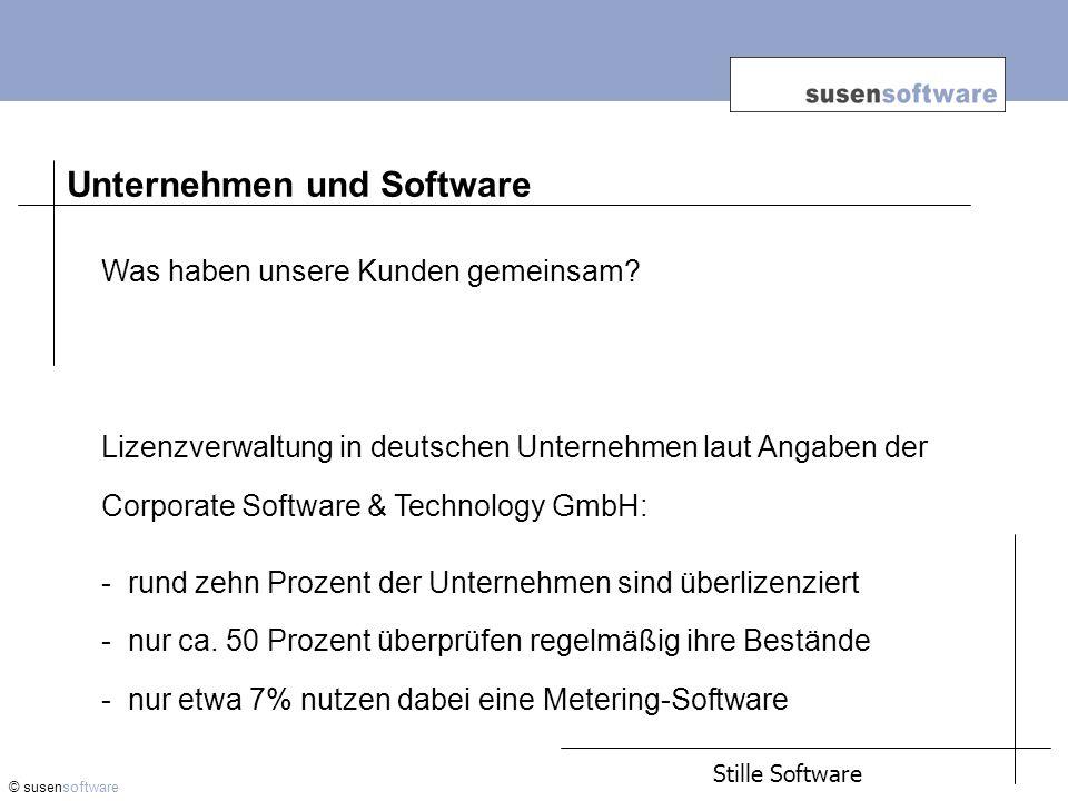Unternehmen und Software
