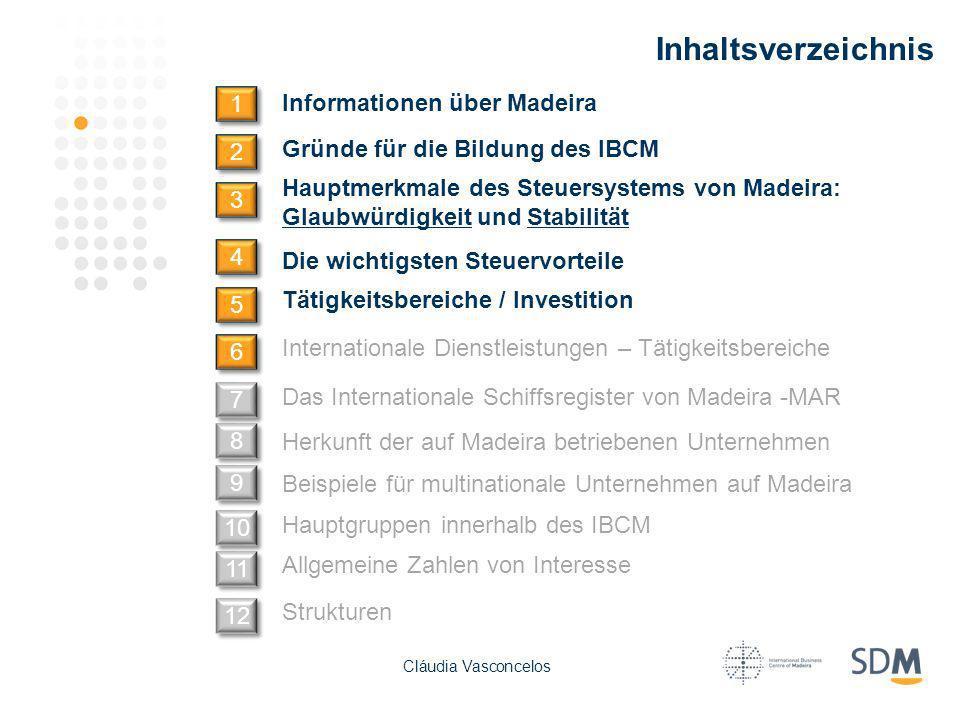 Inhaltsverzeichnis 1 Informationen über Madeira 2