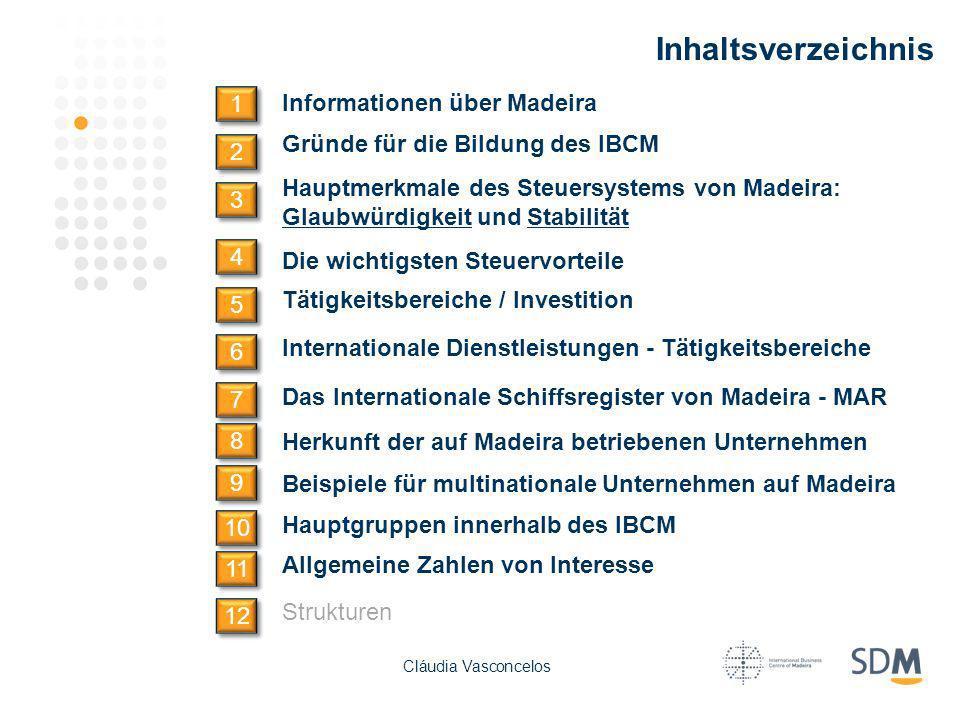 Inhaltsverzeichnis 1 Informationen über Madeira