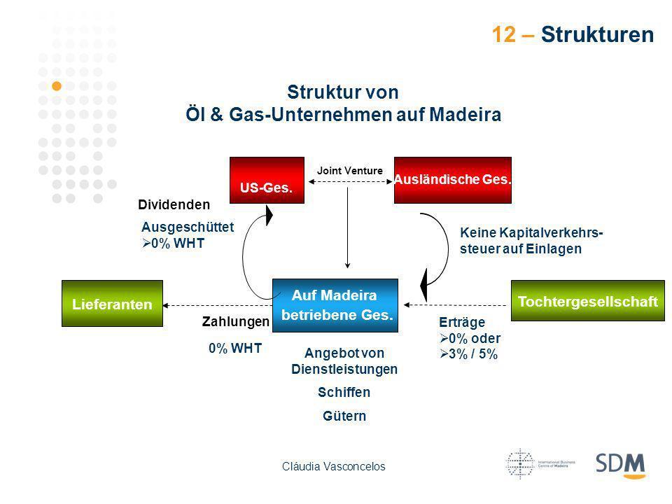 Öl & Gas-Unternehmen auf Madeira Angebot von Dienstleistungen