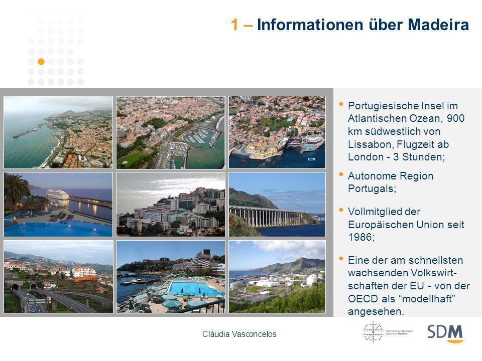 1 – Informationen über Madeira