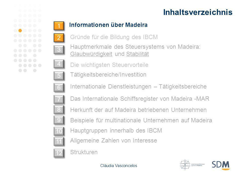 Inhaltsverzeichnis Informationen über Madeira 1 2