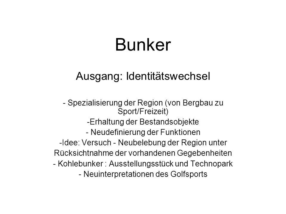 Bunker Ausgang: Identitätswechsel
