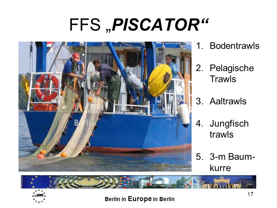 "FFS ""PISCATOR Bodentrawls Pelagische Trawls Aaltrawls"