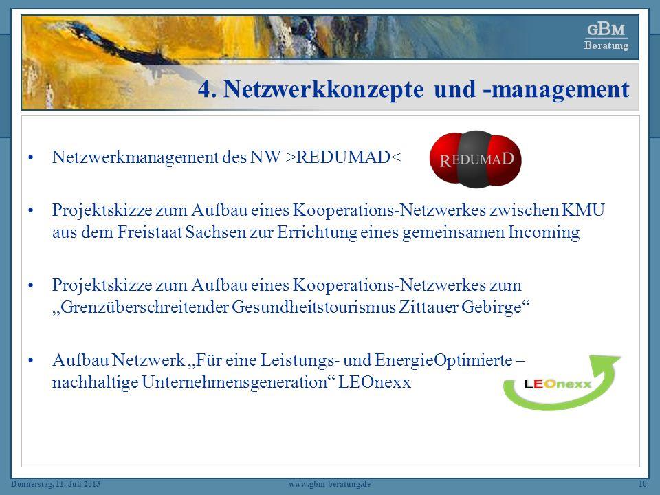 4. Netzwerkkonzepte und -management