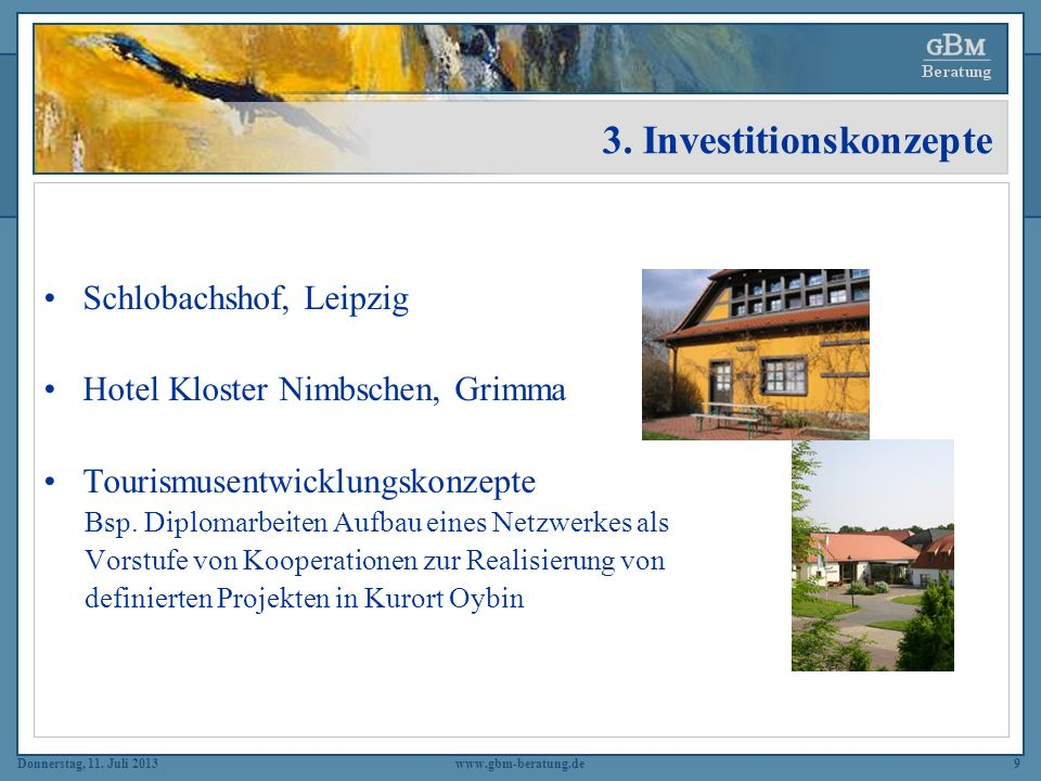 3. Investitionskonzepte