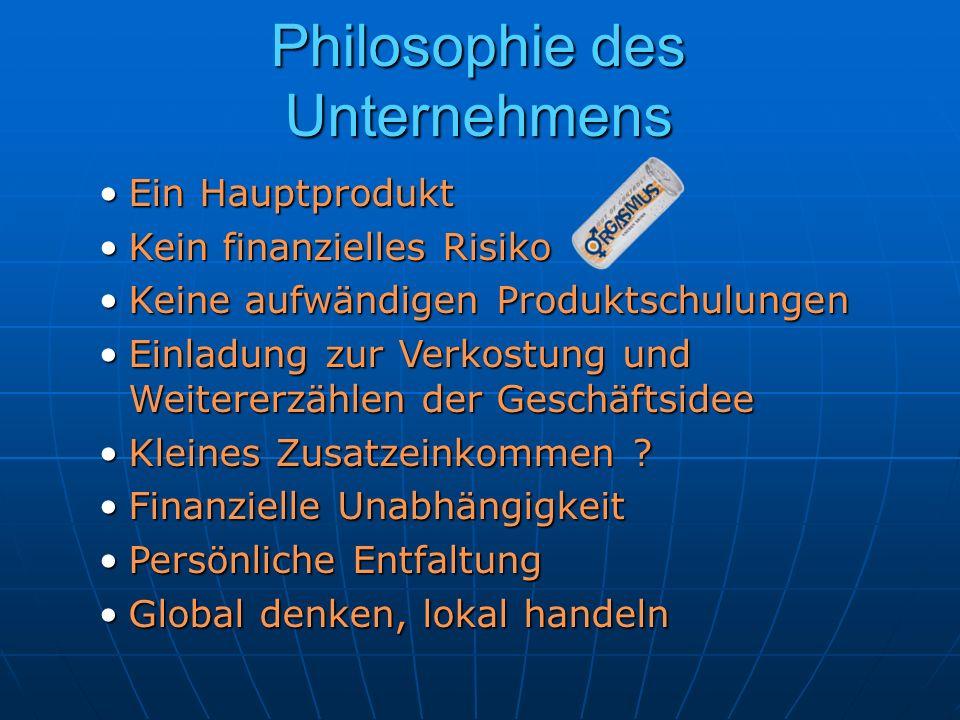Philosophie des Unternehmens
