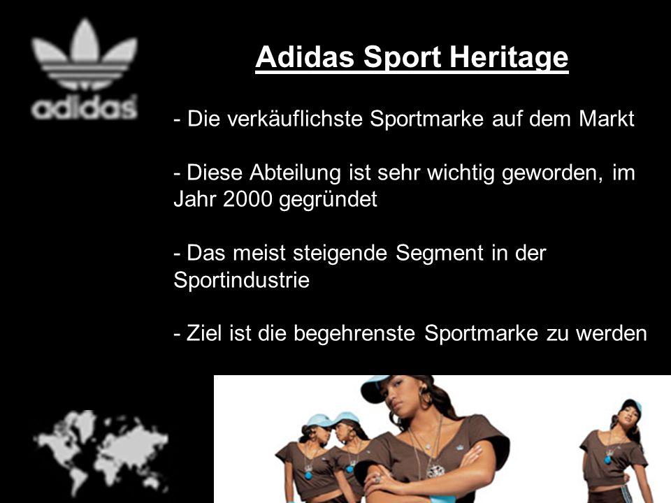 Adidas Sport Heritage Die verkäuflichste Sportmarke auf dem Markt