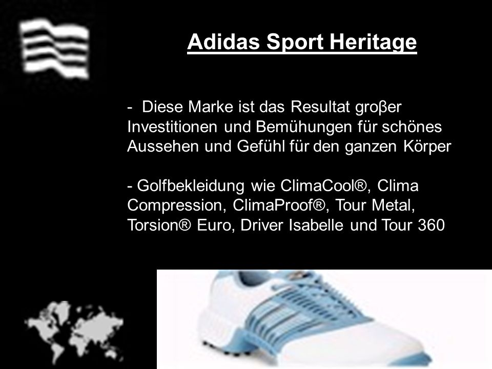 Adidas Sport Heritage Diese Marke ist das Resultat groβer Investitionen und Bemühungen für schönes Aussehen und Gefühl für den ganzen Körper.