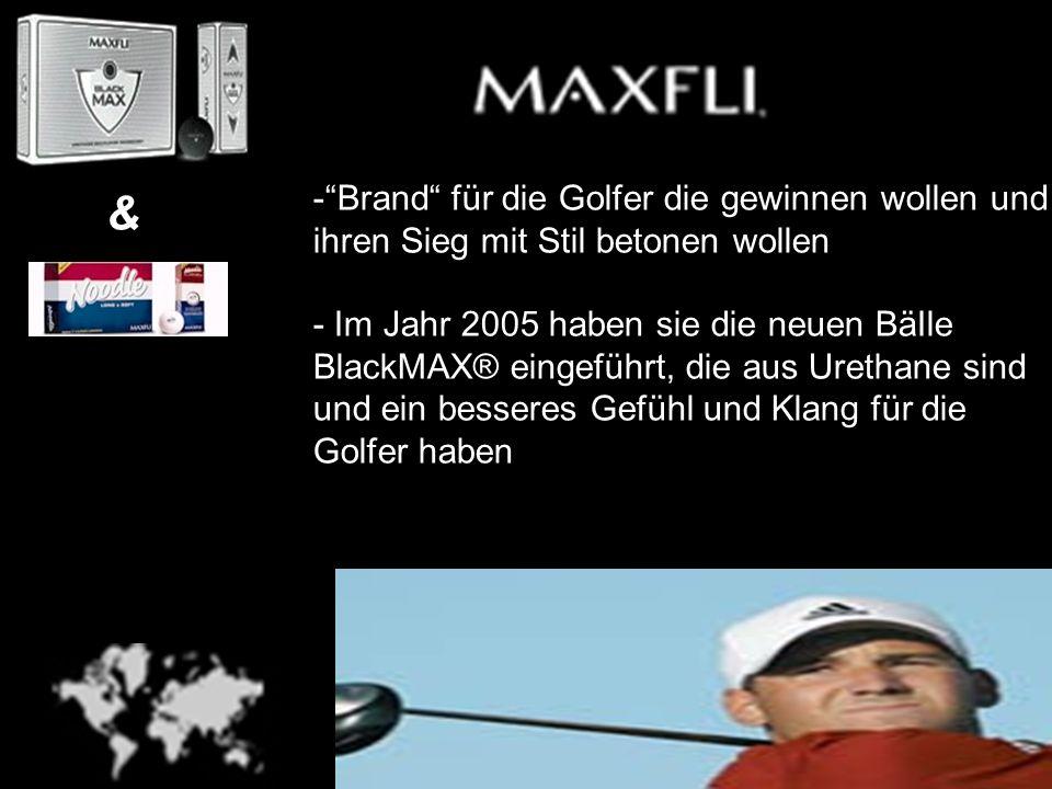 - Brand für die Golfer die gewinnen wollen und ihren Sieg mit Stil betonen wollen