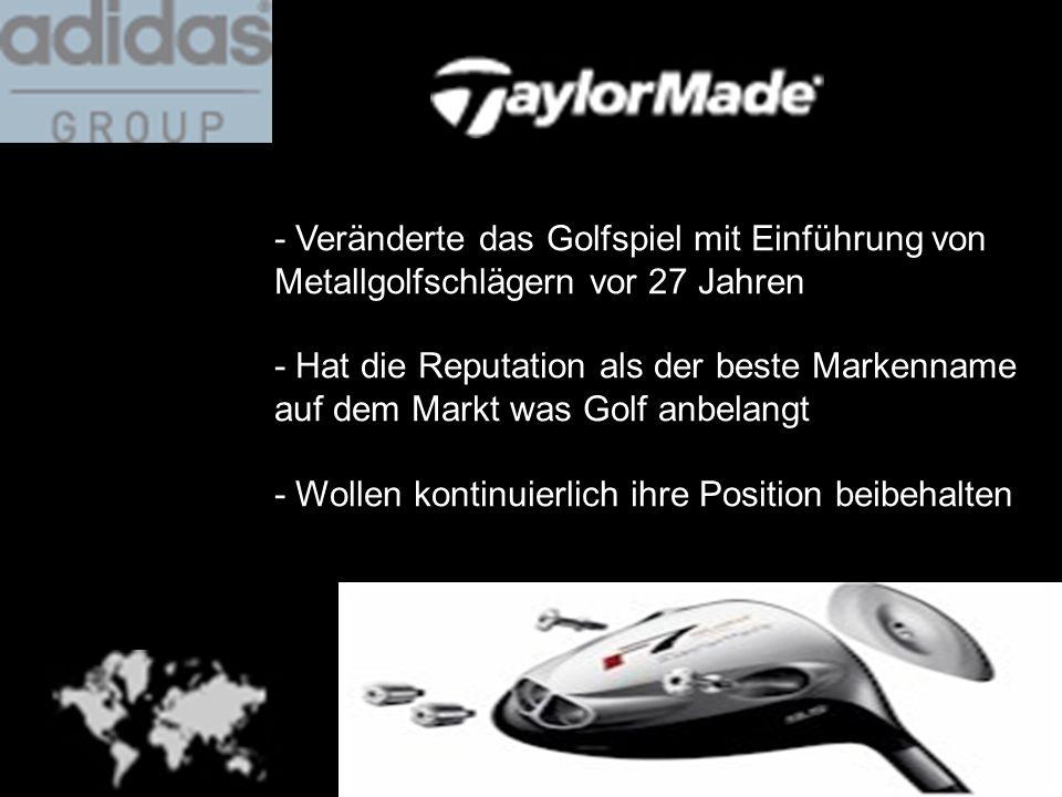 - Veränderte das Golfspiel mit Einführung von Metallgolfschlägern vor 27 Jahren