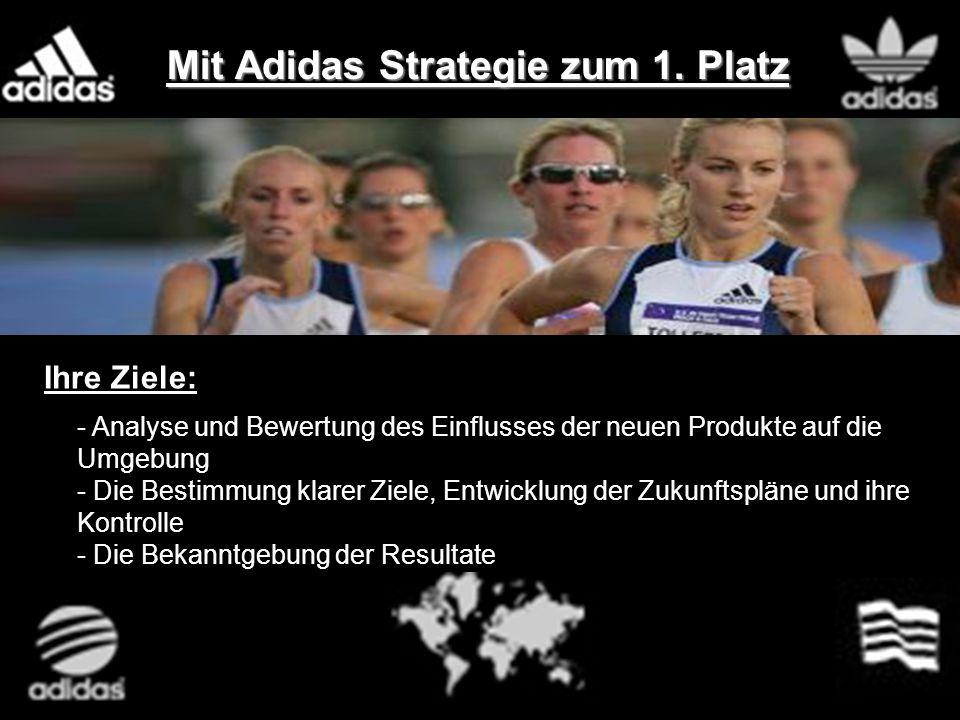 Mit Adidas Strategie zum 1. Platz