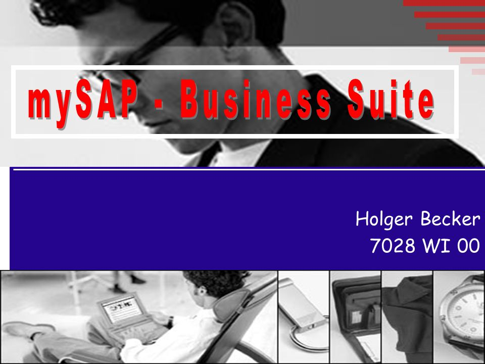 mySAP - Business Suite Holger Becker 7028 WI 00