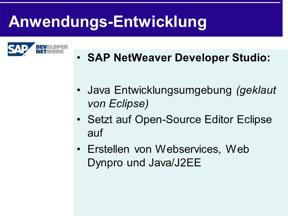 Anwendungs-Entwicklung