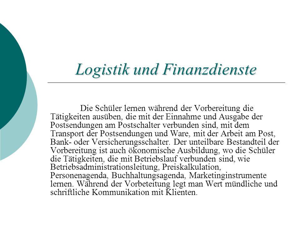 Logistik und Finanzdienste