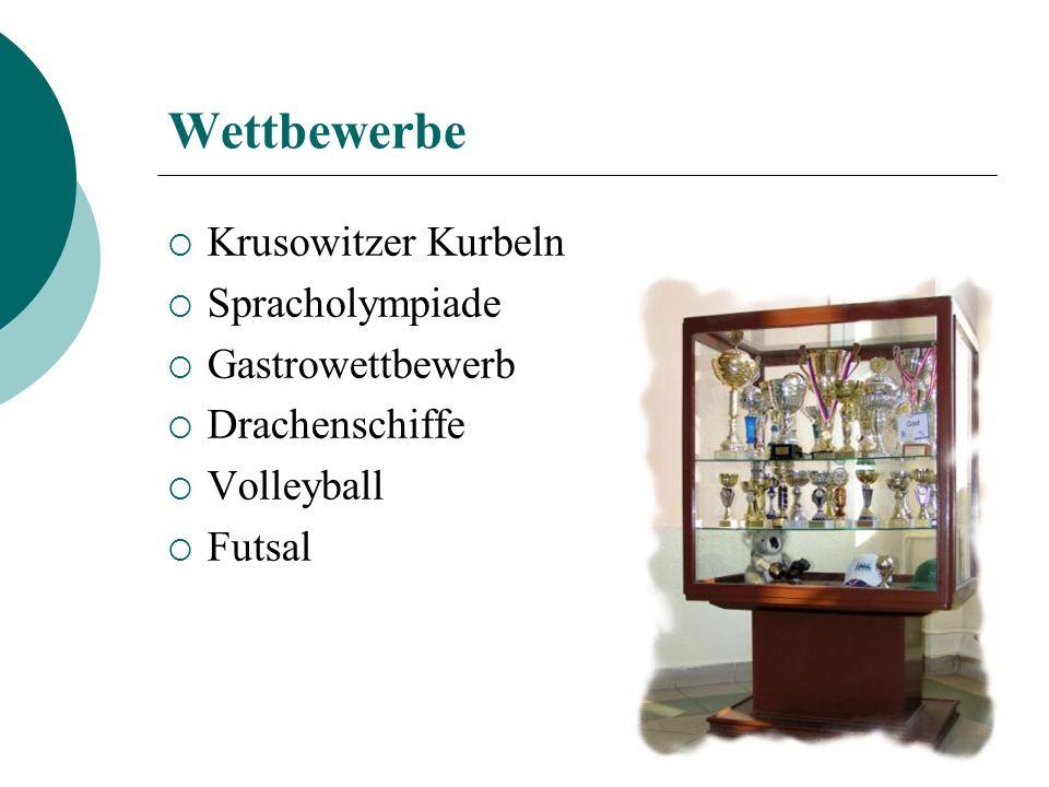 Wettbewerbe Krusowitzer Kurbeln Spracholympiade Gastrowettbewerb