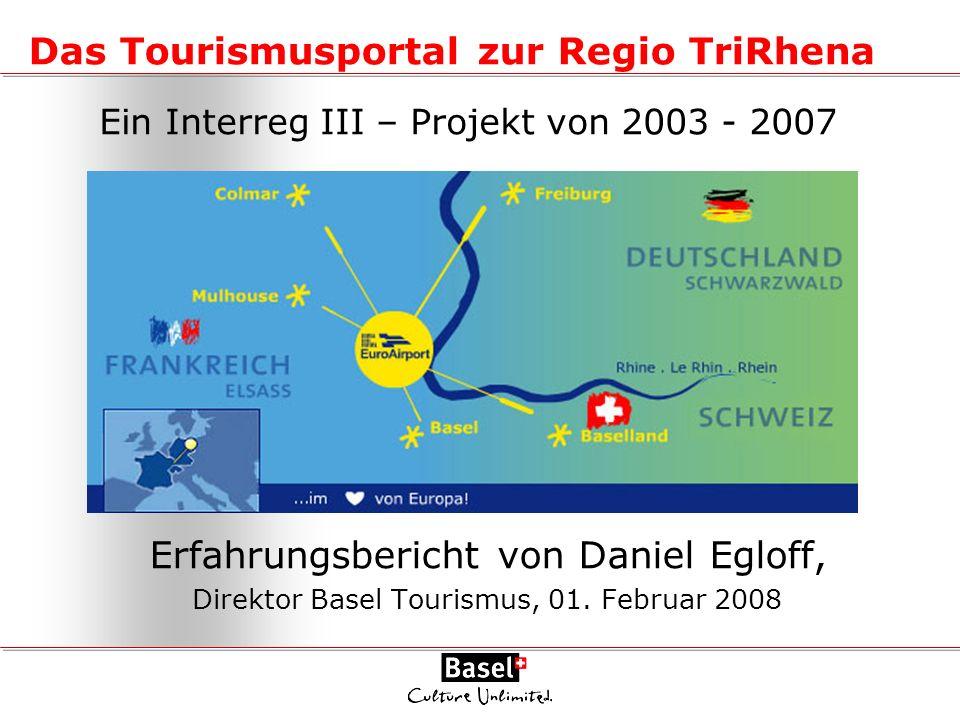 Das Tourismusportal zur Regio TriRhena