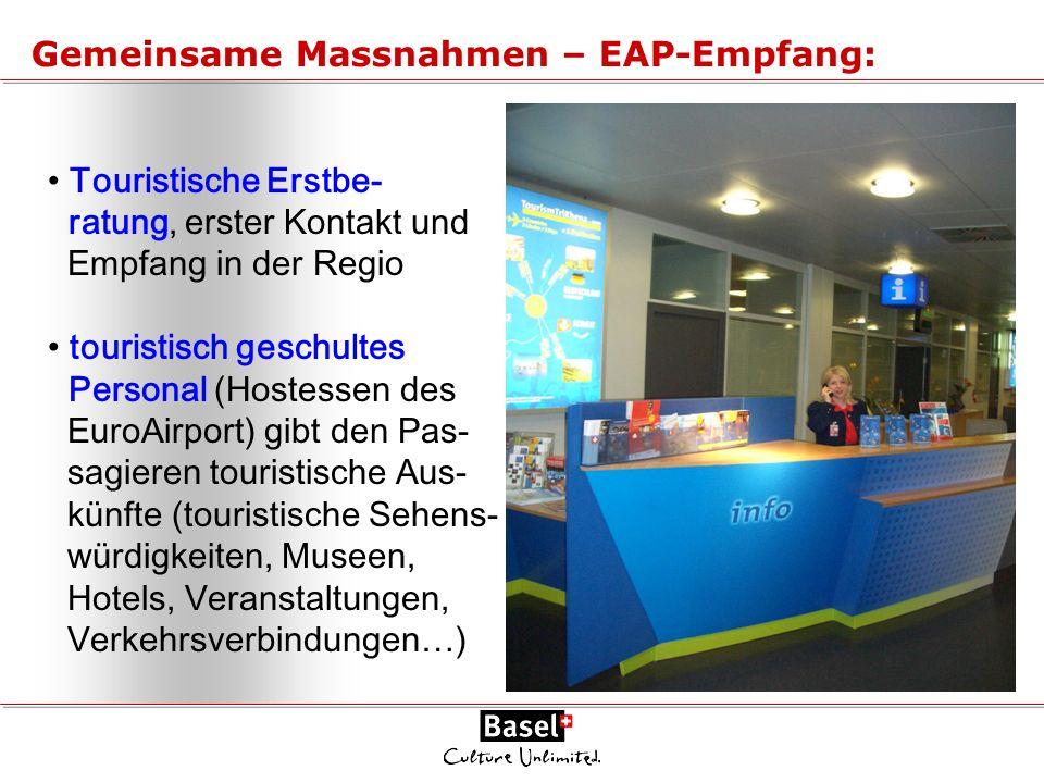Gemeinsame Massnahmen – EAP-Empfang:
