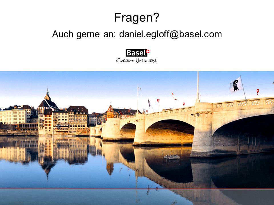 Fragen Auch gerne an: daniel.egloff@basel.com