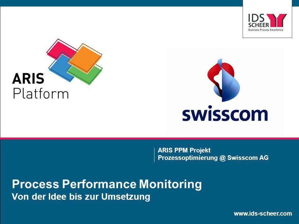 Process Performance Monitoring Von der Idee bis zur Umsetzung