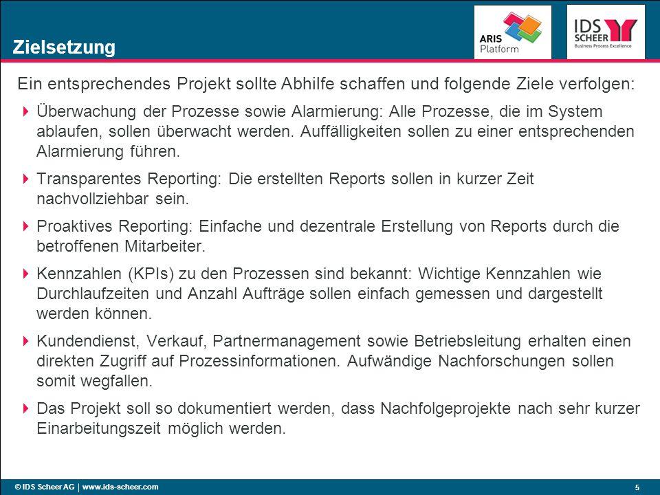 ZielsetzungEin entsprechendes Projekt sollte Abhilfe schaffen und folgende Ziele verfolgen: