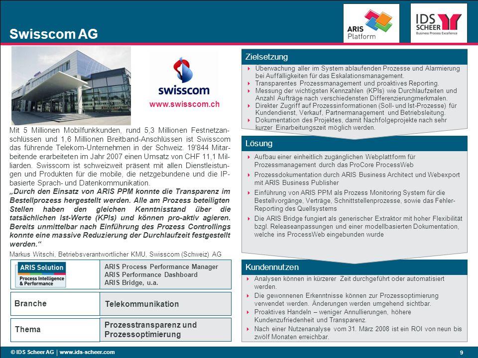 Swisscom AG www.swisscom.ch Kunde: swisscom