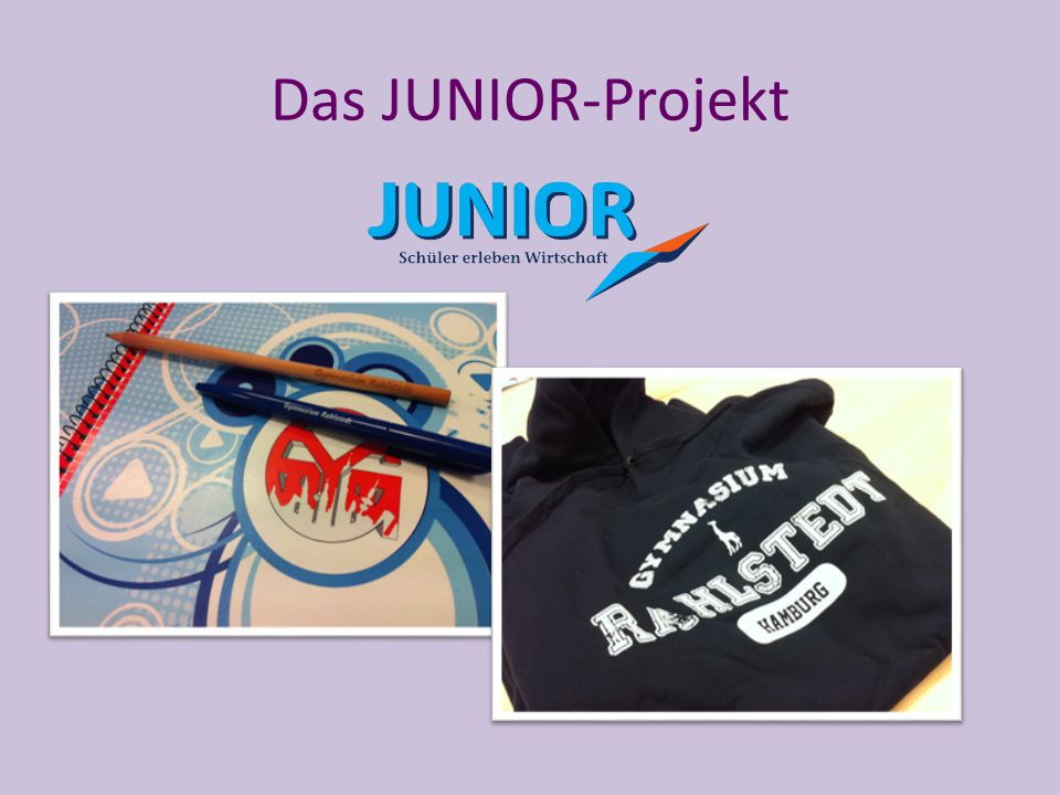 Das JUNIOR-Projekt