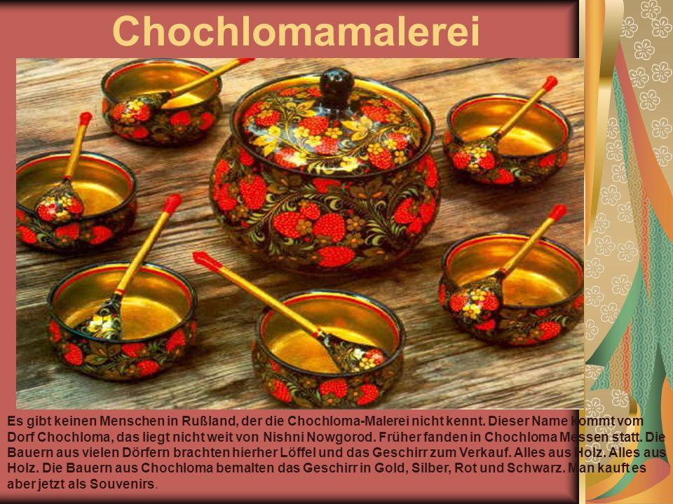 Chochlomamalerei