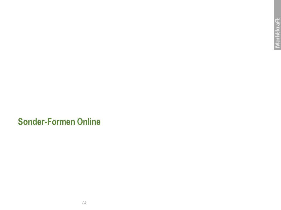Sonder-Formen Online