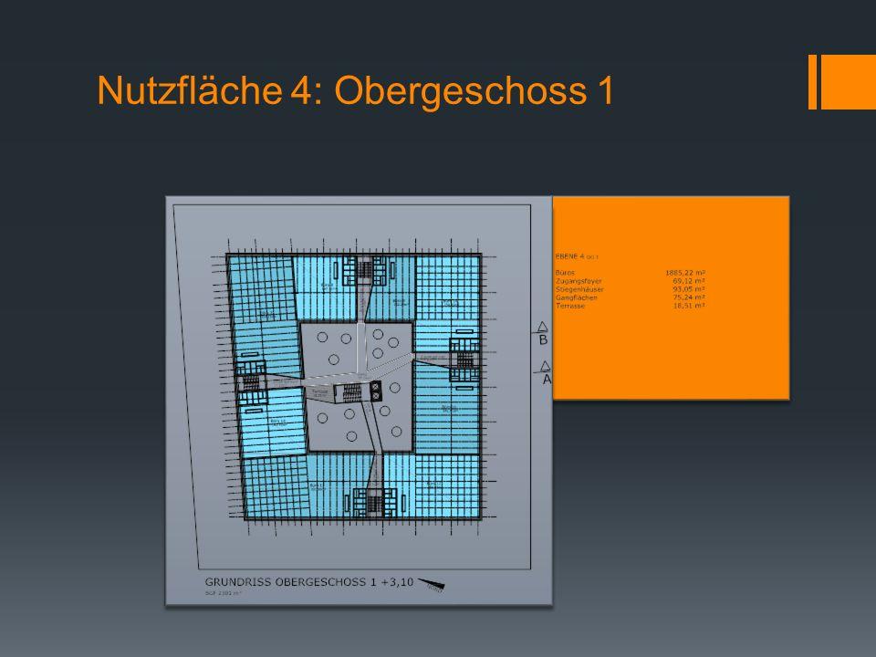 Nutzfläche 4: Obergeschoss 1