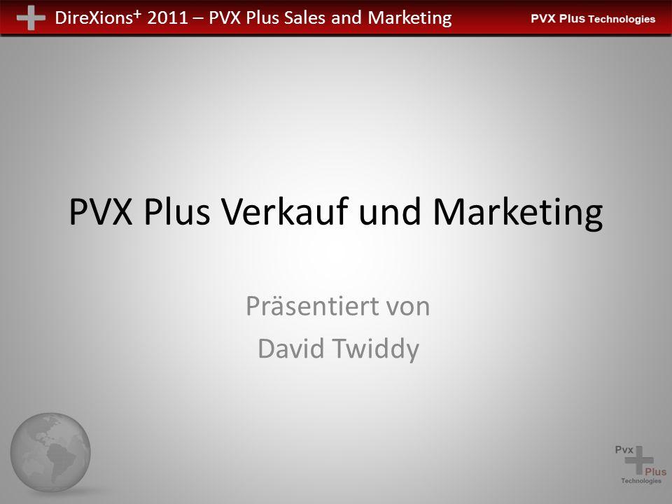 PVX Plus Verkauf und Marketing