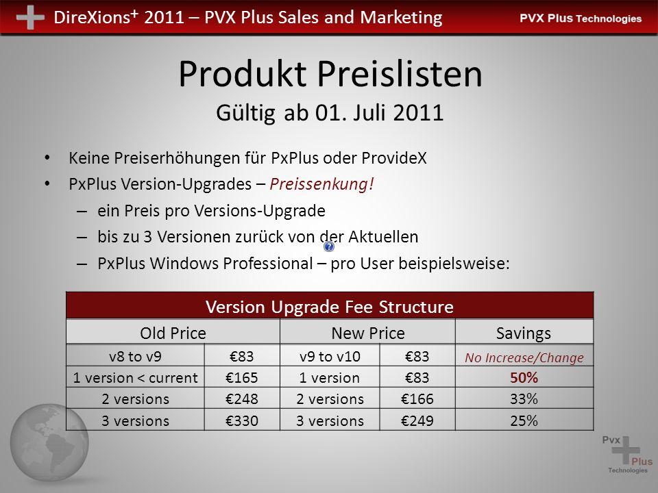 Produkt Preislisten Gültig ab 01. Juli 2011