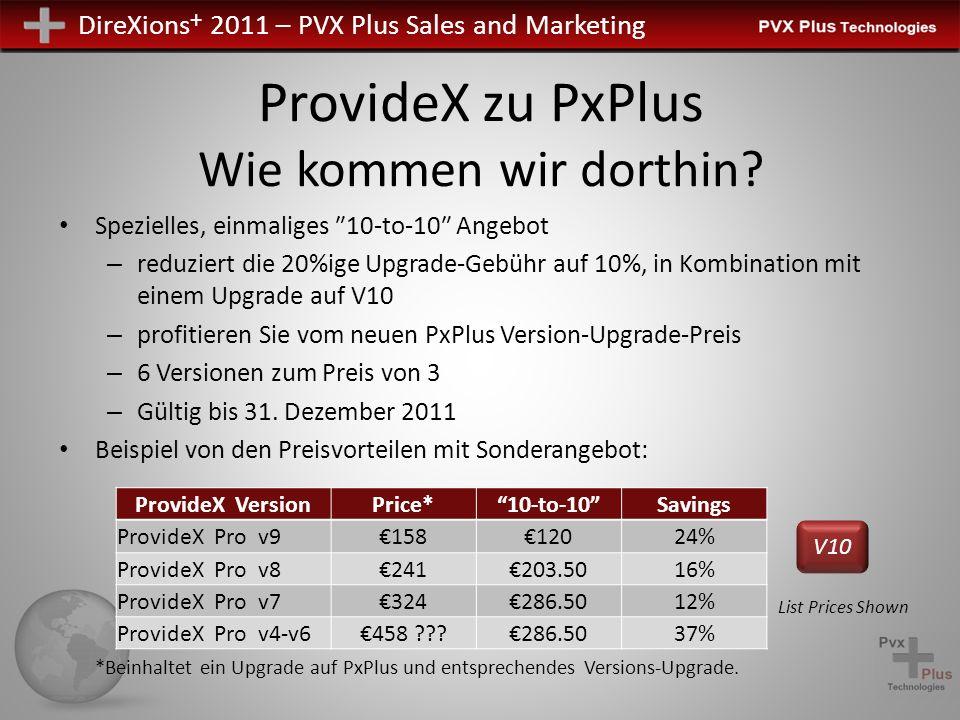 ProvideX zu PxPlus Wie kommen wir dorthin