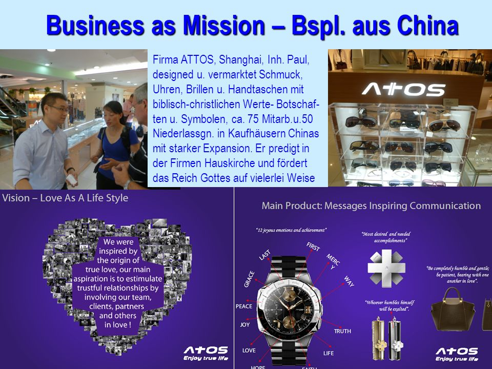 Business as Mission – Bspl. aus China