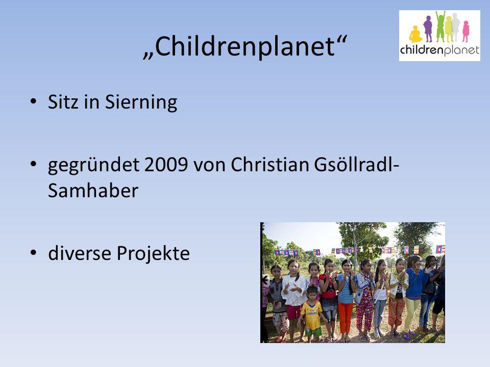 """Childrenplanet Sitz in Sierning"