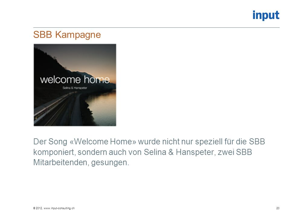 SBB Kampagne