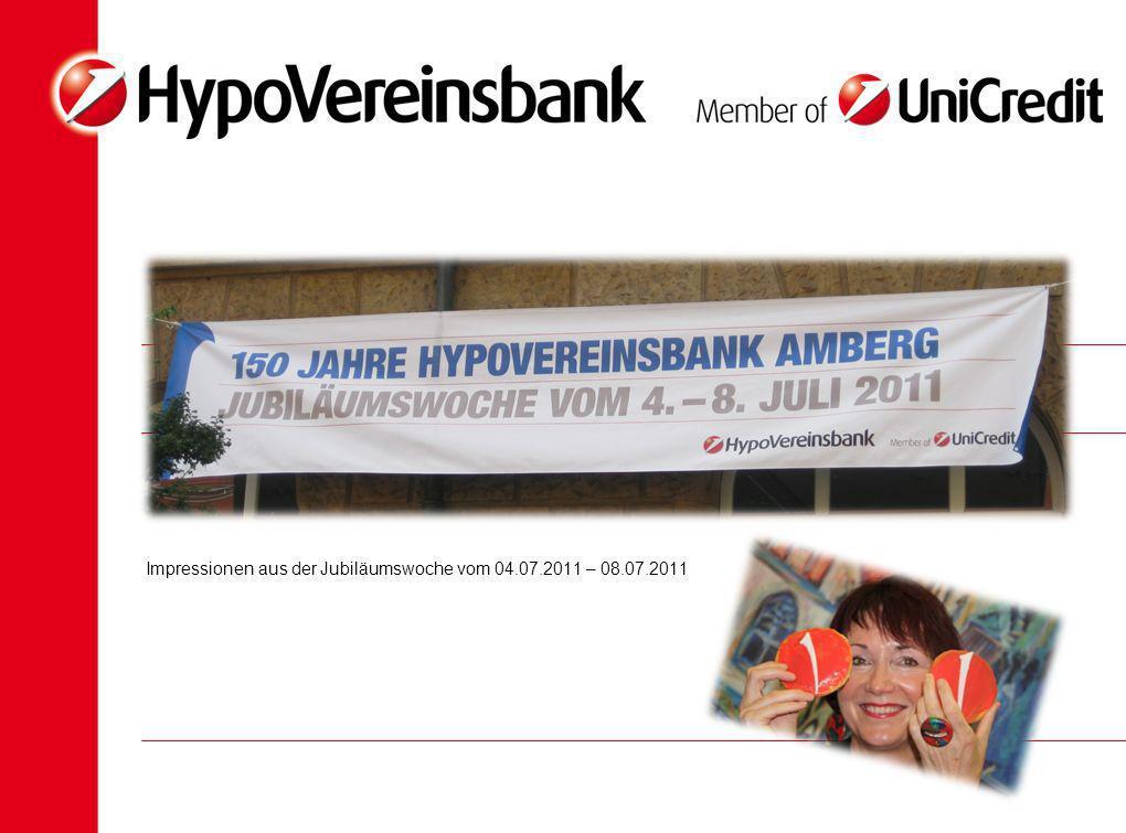 Impressionen aus der Jubiläumswoche vom 04.07.2011 – 08.07.2011