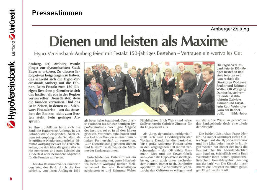 Pressestimmen Amberger Zeitung