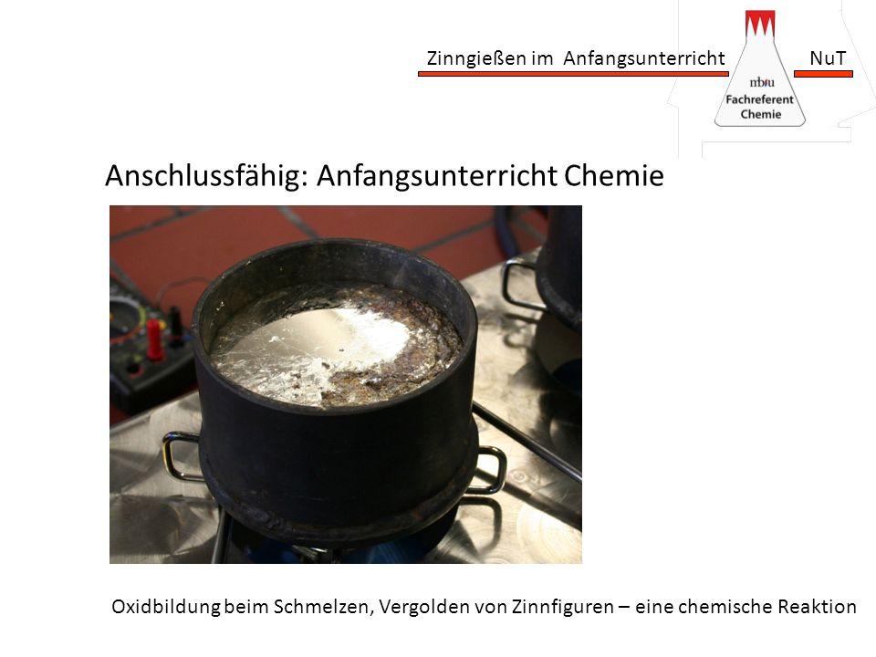 Anschlussfähig: Anfangsunterricht Chemie