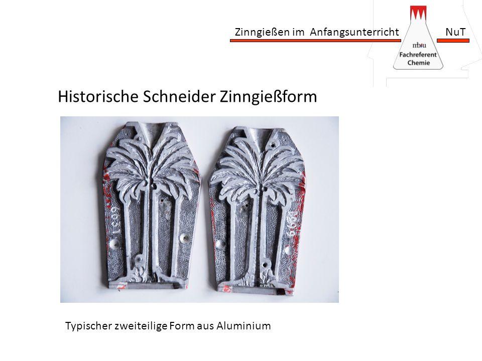 Historische Schneider Zinngießform