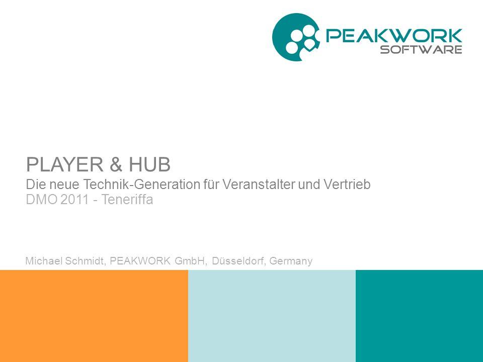 PLAYER & HUB Die neue Technik-Generation für Veranstalter und Vertrieb